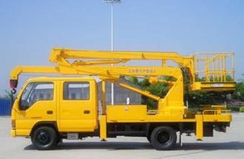 19米高空车蜜桃网在苏州安装监控