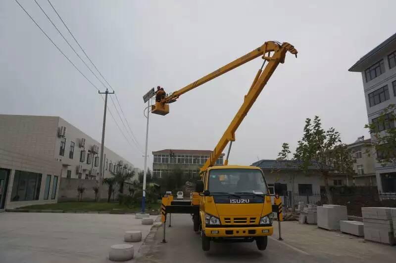18米登高车蜜桃网在检测电力系统