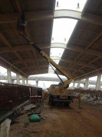 16米升降车蜜桃网在南京检测施工