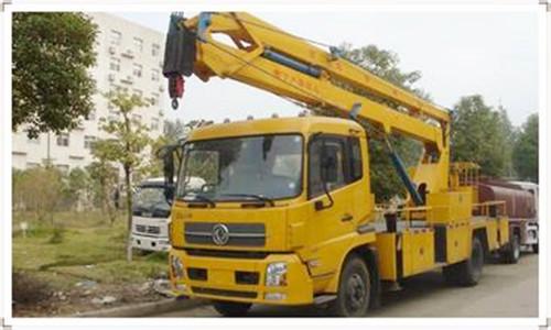 17米升降车蜜桃网在南通检测施工