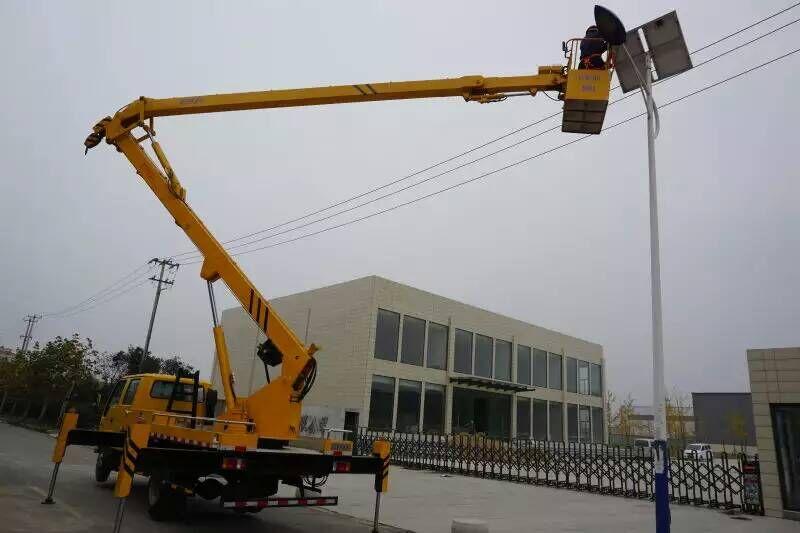 18米登高车蜜桃网在宿迁检测施工