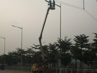 15米高空车蜜桃网在南通检测施工