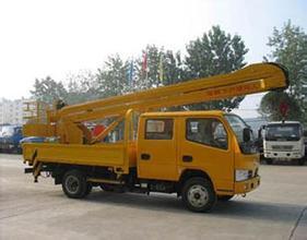 16米升降车蜜桃网在昆山检测施工