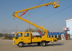 17米升降车蜜桃网在无锡检测施工