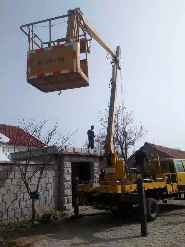 16米桥检车租赁在南京检测施工