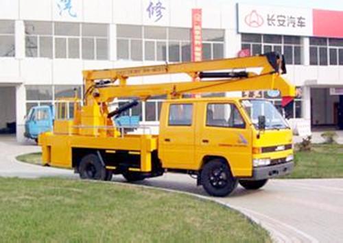 14米升降车蜜桃网在南京检测作业