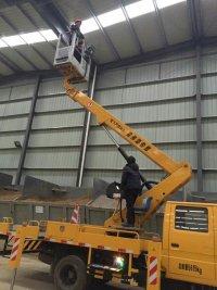 17米升降车蜜桃网在苏州检测施工