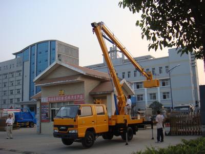 14米高空车蜜桃网在南京检测施工