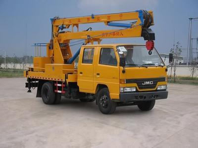 14米升降车蜜桃网在南京检测施工