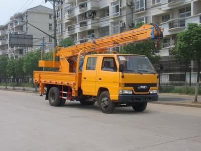 14米路灯车蜜桃网在苏州检测施工
